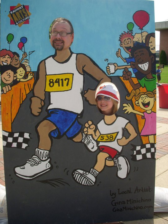 Phil and Elspeth Carter Rahway 5K Carnival Cutout
