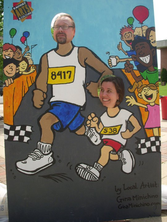 Ennis and Phil Carter Rahway 5K Carnival Cutout