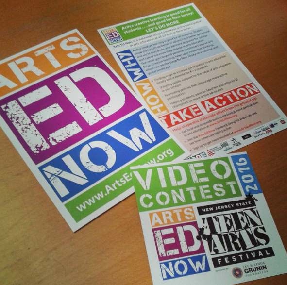 Arts Ed Now Materials