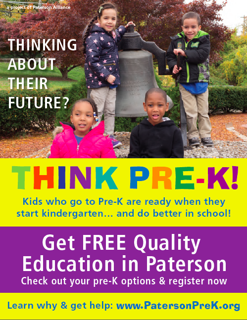 Flyer advertising pre-k