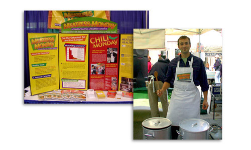 Meatless Monday Chili Cookoff Alex Peltz