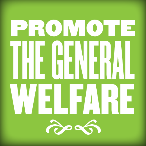 Promote the General Welfare from the Preamble Project
