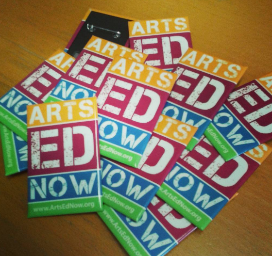Arts Ed Now Buttons