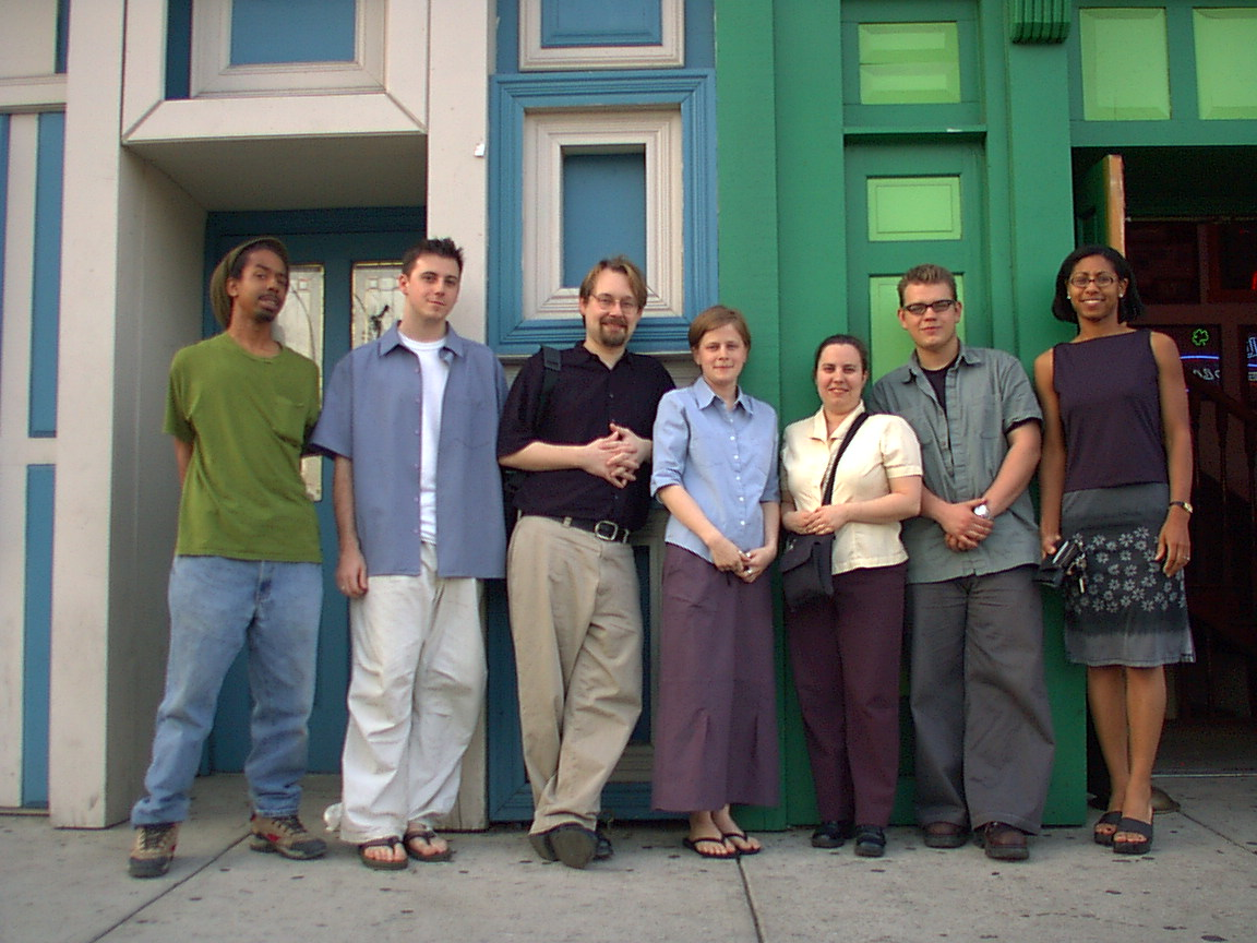 Early Social Impact Studios Group Photo